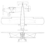 Buhl CA-3B Junior Airsedan 3-view Aero Digest June 1928.png