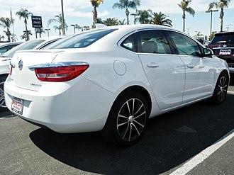 Buick Verano - Rear view