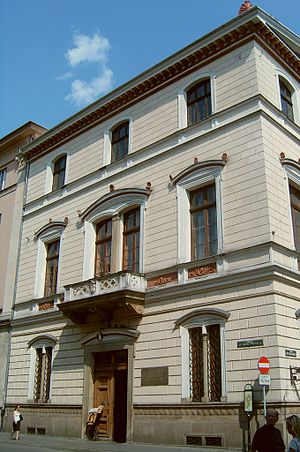 Polish Academy of Learning - The seat of the Polish Academy of Arts and Science in Kraków at 17 Sławkowska Street
