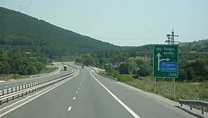 European route E79 - E79 in Bulgaria (motorway stretch)