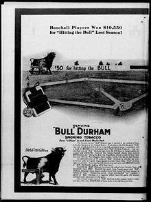 bull durham smoking tobacco wikipedia