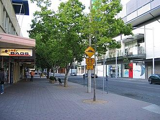 Bunda Street - Image: Bunda St 2