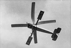 Cierva C.6 - Cierva C.6 in flight
