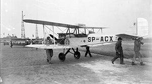 PZL.5 - Bolesław Orliński's PZL-5 during the Challenge 1930