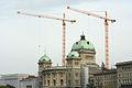 Bundeshaus während Renovation, Mai 2006 (4).jpg