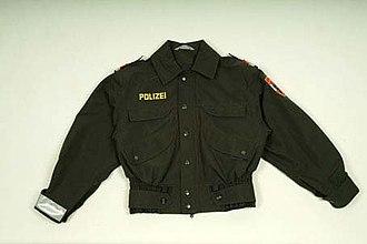 Blouson - Image: Bundespolizei blouson gruen