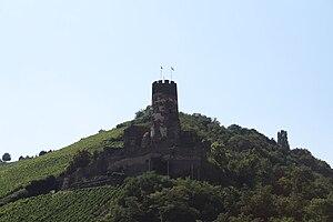 Fürstenberg Castle (Rheindiebach) - Image: Burg Fürstenberg 2009 08 01 03