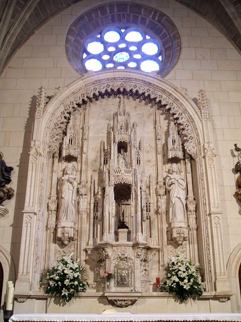 Burgos - Iglesia de Santa Águeda (o de Santa Gadea) 06.JPG