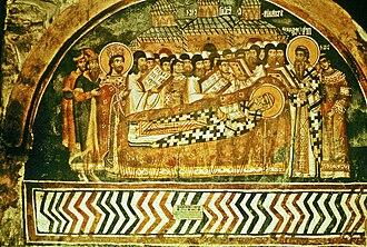 Sava II - Burial of Sava II, Patriarchate of Peć.