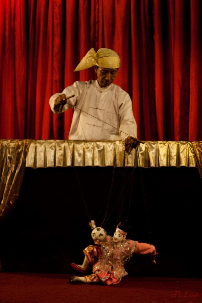 Burmese puppetry