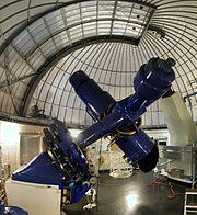 Burrell Schmidt telescope at the Warner & Swasey Observatory at Kitt Peak