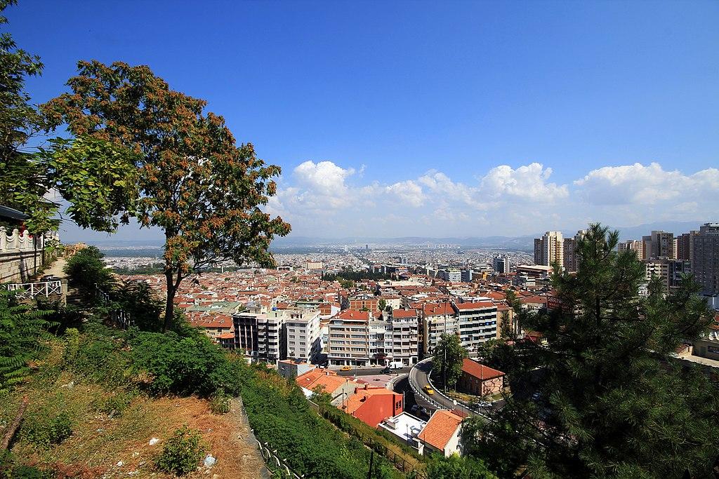 Bursa Turkey panorama 2013 1
