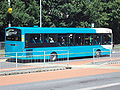 Bus on Runcorn busway - DSC06729.JPG