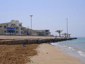 Bushehr Province - The coast in Bushehr by the Persian Gulf.