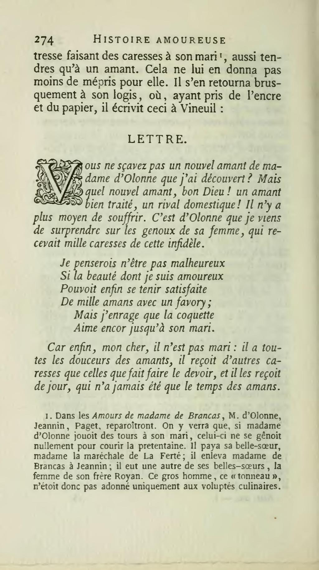 Pagebussy Rabutin Histoire Amoureuse Des Gaules T 1 éd