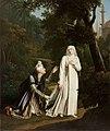 CARON Mathilde surprise dans les jardins de Damiette par Malek-Adhel.jpg