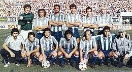 Once titular del Málaga el 11 de septiembre de 1983 9c5789dfd3f49