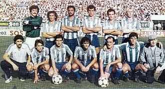 Málaga CF - CD Málaga 1983