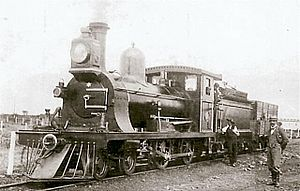 1889 in South Africa - CGR 3rd Class 4-4-0
