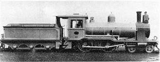 1901 in South Africa - CGR 3rd Class ''Wynberg Tender''