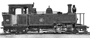 CGR Type A 2-6-4T - Image: CGR Type A 2 6 4T works