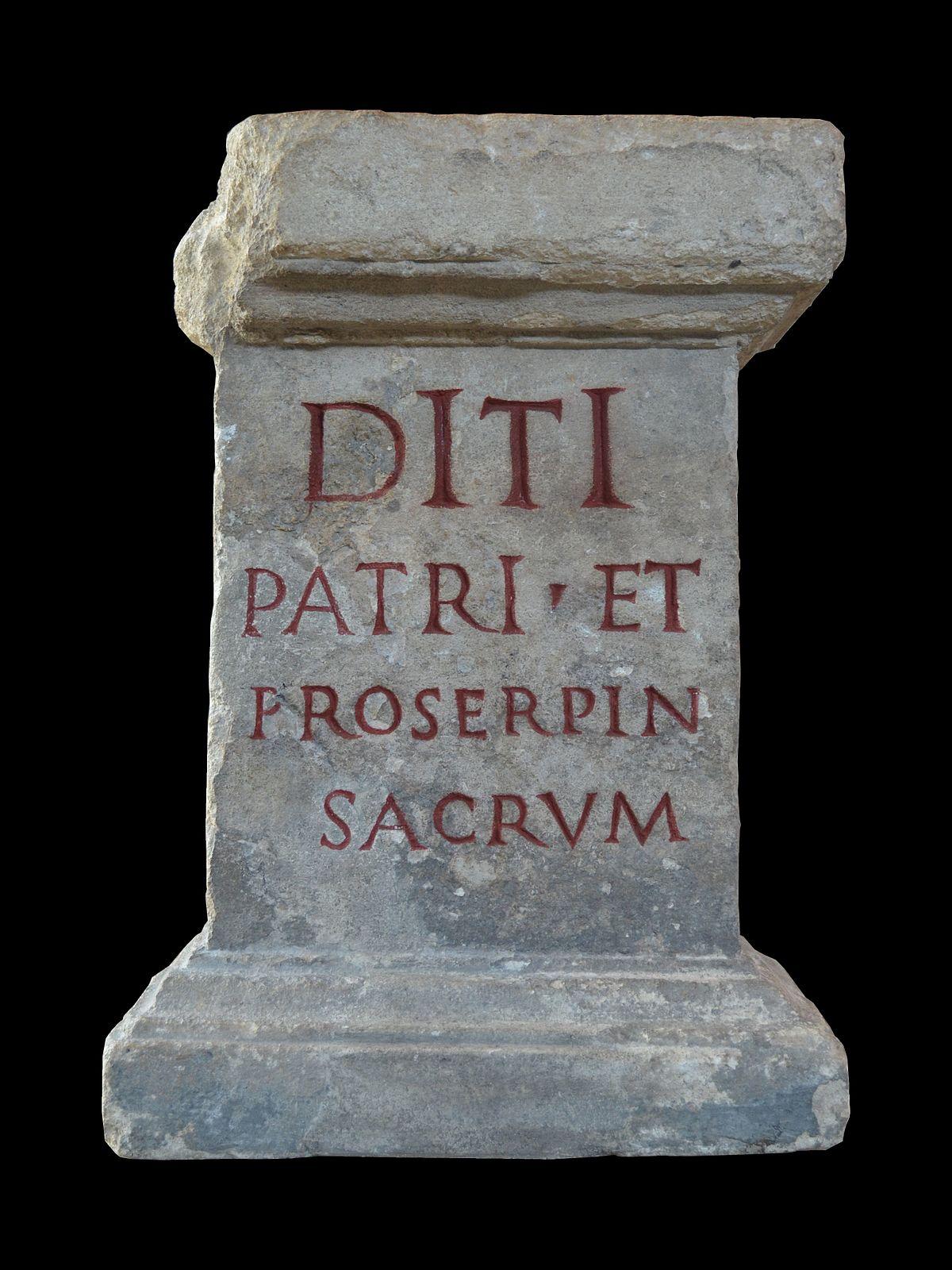 Dis Pater - Wikipedia