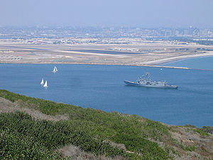 Naval Air Station North Island - Image: Cabrillo View