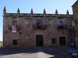 Cáceres, Spain - Las Veletas Palace.