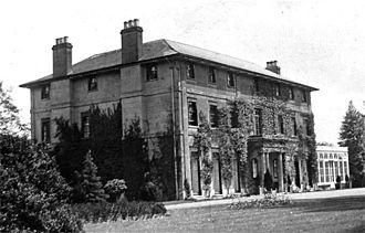 Caddington Hall - Caddington Hall, demolished 1975