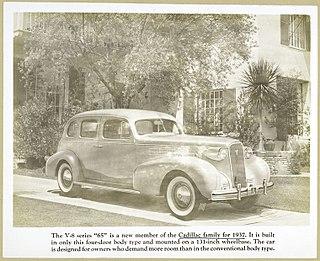 Cadillac Series 65 Motor vehicle