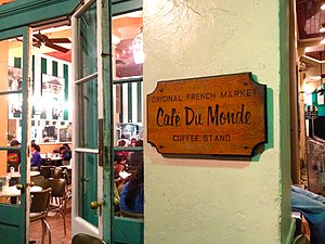 """Café du Monde - """"Original French Market Coffee Stand"""""""