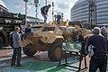 Caiman armoured car at Milex-2019 (Minsk, Belarus) — БРДМ Кайман на выставке Milex-2019 (Минск, Беларусь) 00001.jpg