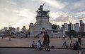 Cair da tarde em um sabado de outono,Monumento da independencia..jpg