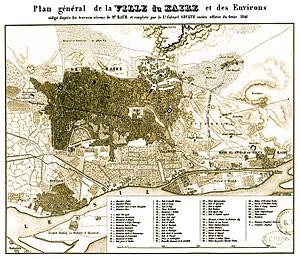 Cairo - Cairo map 1847