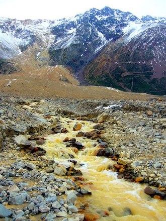 Cordillera Province, Chile - Image: Cajón del Maipo