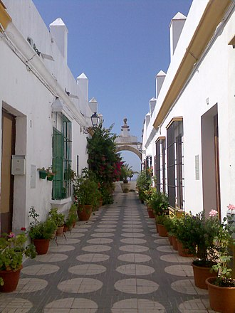 Puerto Real - Street of the arch.