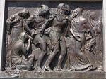 Calvary of Karl I of Austria. Station 10. Jesus is stripped of his garments. - Tihany.JPG