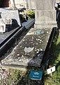 Cambrai - Cimetière de la Porte Notre-Dame, sépulture remarquable n° 17, Achille Doucedame, résistant fusillé (01).JPG