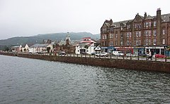 Ufastroß in Campbeltown