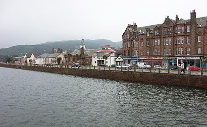 How to get to Campbeltown with public transport- About the place