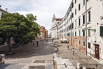 """I Gesuiti, Venice - View of the """"Complex of Gesuiti"""""""
