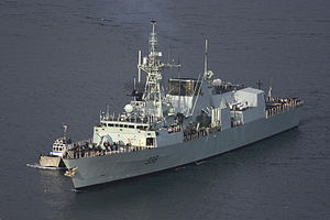 Canadian Navy HMCS Winnipeg FFH338