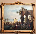 Canaletto e bottega, capriccio con rovine e porta portello a padova, 1760-70 ca., 01.jpg