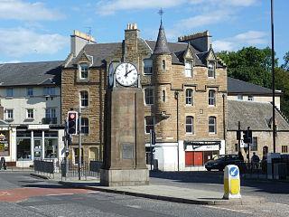 Canonmills district of Edinburgh, Scotland