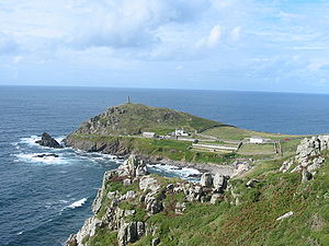 Cape (geography) - Cape Cornwall, England