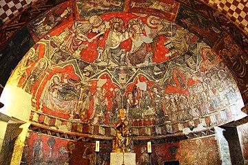 Capilla Mayor de la Cripta de Santa Maria del Perdon
