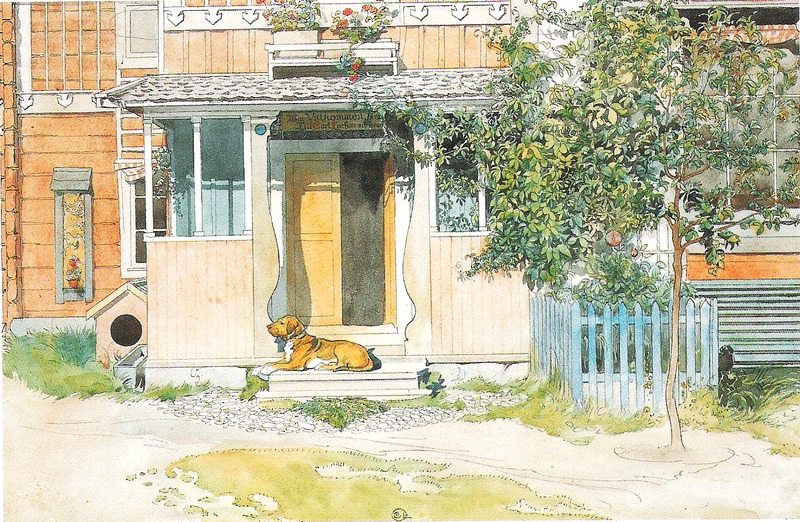 Файл: Карл Ларссон - Верандан - Этт Хем - 1899.tiff