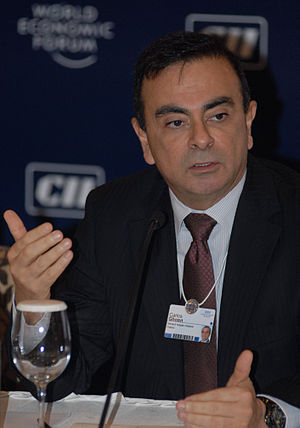Carlos Ghosn - Ghosn at the World Economic Forum India Economic Summit in 2009