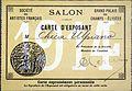Carné expositor Ulpiano Checa Salón Campos Elíseos 1914.JPG
