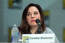 Caroline Dhavernas - the beautiful, cute,  actress  with Canadian roots in 2017